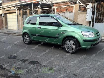 Ветровики Hyundai Getz (3дв) (2002-2011) CT