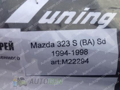 CT-VL Tuning Ветровики Mazda 323 BA (S) SD (1994-1998) CT