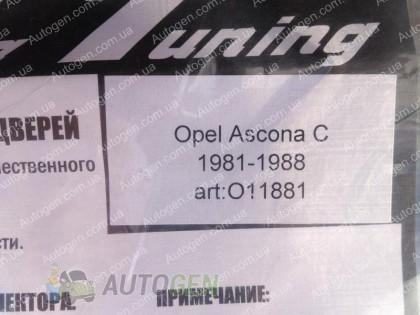 CT-VL Tuning Ветровики Opel Ascona C (1981-1988) CT