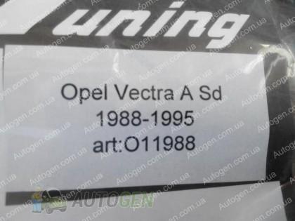 CT-VL Tuning Ветровики Opel Vectra A (1988-1995)  CT