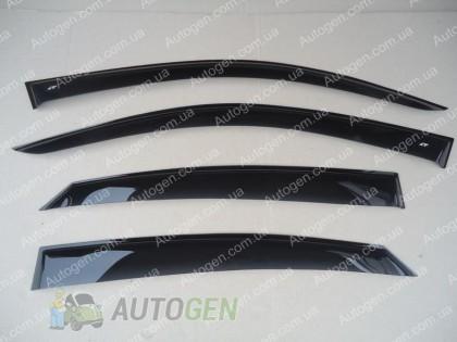 CT-VL Tuning Ветровики Peugeot 407 (2004-2011) CT