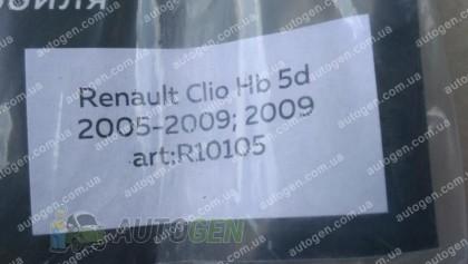 Ветровики Renault Clio 3 HB (2005-2012) CT