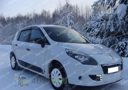 Ветровики Renault Scenic 3 (2009->)  CT