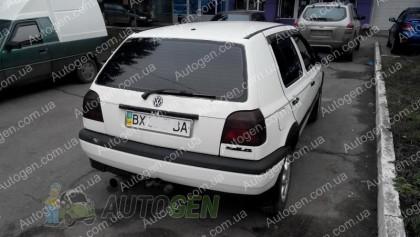 CT-VL Tuning Ветровики Volkswagen Golf 3 HB (5 двери) (1992-1997) CT