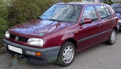 Подкрылки Защита Локера Volkswagen Golf 3 (1992-1997) / Volkswagen Vento (1992-1997)