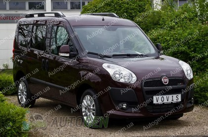 Мухобойка Fiat Doblo (2010->)  VIP