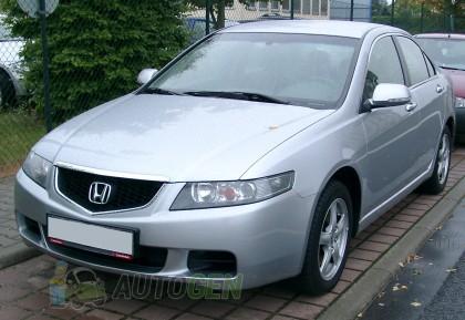 Мухобойка Honda Accord VII (2002-2006) с молдингом VIP