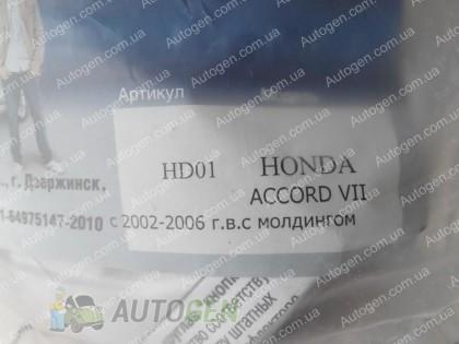 Vip 52 Мухобойка Honda Accord 7 (2002-2005) с молдингом VIP