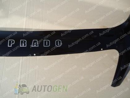 Vip 52 Мухобойка Toyota Land Cruiser Prado 120 (2002-2009) (с клыками) VIP