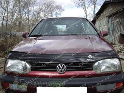 Мухобойка Volkswagen Golf 3  (1991-1997)  VIP