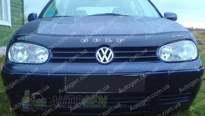 Мухобойка Volkswagen Golf 4  (1997-2003)  VIP