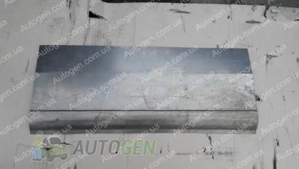 Изготовление порогов на автомобиль Пример №3