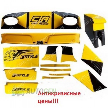 F-Style Авто Тюнинг салона ВАЗ 2101, 2102, 2103, 2104, 2105, 2106 2107 ЛЮКС Желтый