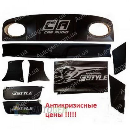F-Style Авто Тюнинг салона ВАЗ 2101, 2102, 2103, 2104, 2105, 2106, 2107 ЛЮКС Черный