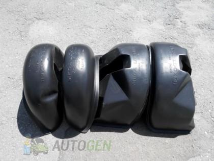 Mega-Locker Подкрылки Fiat Scudo 1 (1995-2007) (4шт) (Mega-Locker)