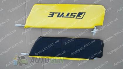 F-Style Солнцезащитные козырьки ВАЗ Нива 2121, 21213 желтые
