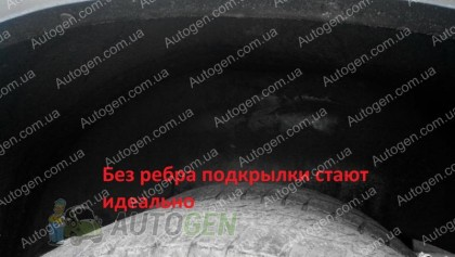 Подкрылки Защита Локера Mercedes Sprinter (1995-2006) двухкатковый