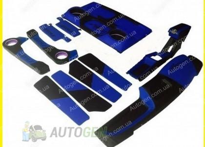 Тюнинг салона ВАЗ 2108, 2109, 21099 Антикризисная цена (цвет синий)
