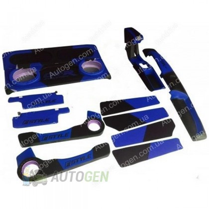 F-Style Авто Тюнинг салона ВАЗ 2108, ВАЗ 2109, ВАЗ 21099 Антикризисная цена Синий