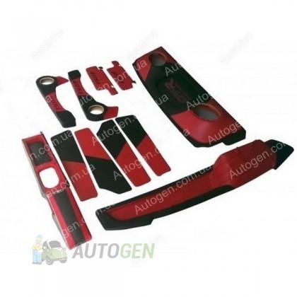 F-Style Авто Тюнинг салона ВАЗ 2108, ВАЗ 2109, ВАЗ 21099 Антикризисная цена Красный