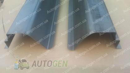 Изготовление порогов на автомобиль Chevrolet Aveo (2002-2005)