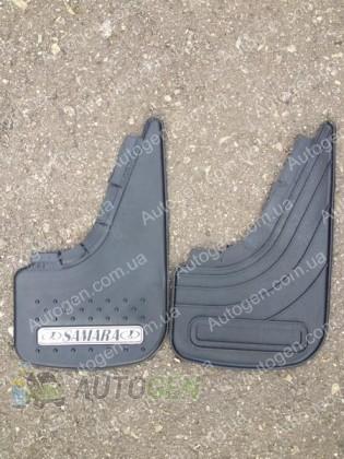Mud pl (с логотипом) Брызговики ВАЗ 2108, ВАЗ 2109, ВАЗ 21099, ВАЗ 2113, ВАЗ 2114, ВАЗ 2115 Samara ( 2шт.) (с надписью)