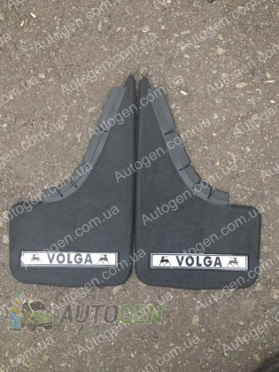 Mud pl (с логотипом) Брызговики  ГАЗ Волга 3110, ГАЗ Волга 2410 ( 2шт.) (с надписью)