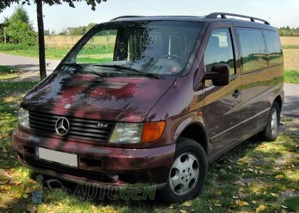 Подкрылки Mercedes Vito W638 (1995-2003) (4шт) (Nor-Plast)