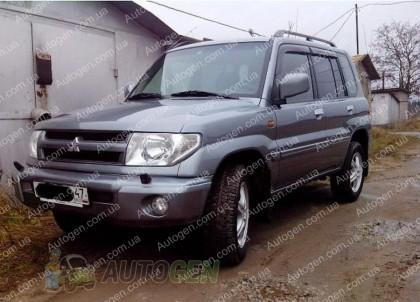 Ветровики Mitsubishi Pajero 3 Pinin (5 дверей) (1999-2006) CT