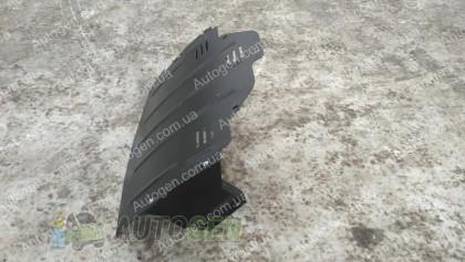"""Titanium Защита двигателя Renault Master 3 (2010->) (с ушами)    """"Titanium"""""""