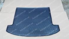 Коврик в багажник Kia Carens (2012->) (5 мест) (Avto-Gumm полимер-пластик)