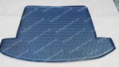 Коврик в багажник Kia Carens (2012->) (7 мест) (Avto-Gumm полимер-пластик)