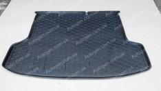 Коврик в багажник Kia Rio 2 SD (2005-2011) (Avto-Gumm полимер-пластик)