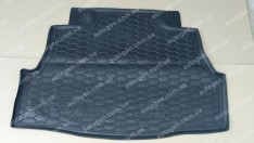 Коврик в багажник Nissan Almera B10 SD (Classic) (2006-2012) (Avto-Gumm полимер-пластик)