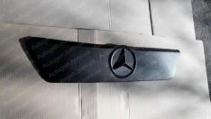Решетка радиатора (верхняя) зимняя Mercedes Sprinter 1 (1995-2000) Матовая
