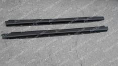 Накладки на пороги (обвес) ВАЗ 2110, ВАЗ 2111, ВАЗ 2112 Завод нового образца