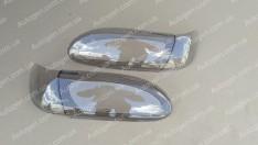 Накладки фар (защита) ВАЗ 2113, ВАЗ 2114, ВАЗ 2115 овал (ANV)