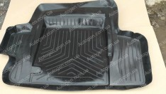 Коврик в багажник Волга 2410 (резино-пластик) (Nor-Plast)