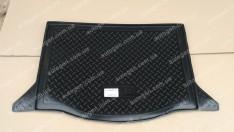 Коврик в багажник Honda Jazz HB (2008-2013) (резино-пластик) (Nor-Plast)