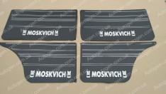 Обшивка дверей карты Москвич 2140 черная