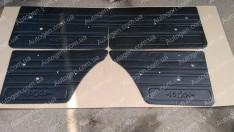 Обшивка дверей карты ВАЗ 2101, ВАЗ 2102, ВАЗ 2103, ВАЗ 2104, ВАЗ 2105, ВАЗ 2106, ВАЗ 2107 завод (с узором 06) пластик