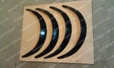 Арки расширители (фендера) универсальные (5 см) (стекловолокно) Ort-EU