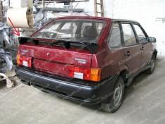 Спойлер багажника ВАЗ 2108, 2109, 2113, 2114 (Design Temp) (стекловолокно)