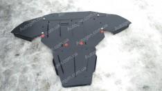 "Защита двигателя Audi A6 C6  (2004-2011)   ""Titanium"""