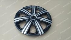 Колпаки на колеса DTM Super Black R14 3D carbon (STR)