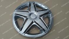 Колпаки на колеса NHL R15 3D carbon (STR)