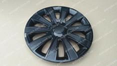 Колпаки на колеса Karat Black R13 3D carbon (STR)