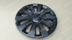 Колпаки на колеса Karat Black R15 3D carbon (STR)