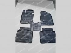 Коврики салона Hyundai Sonata 6 (YF) (2010-2015) (5шт) (Avto-Gumm)