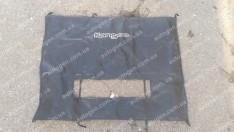 Утеплитель решетки радиатора и бампера Renault Kangoo 2 (2008->) (большой) мягкий черный